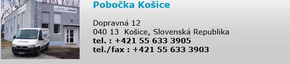 Pobočka Košice